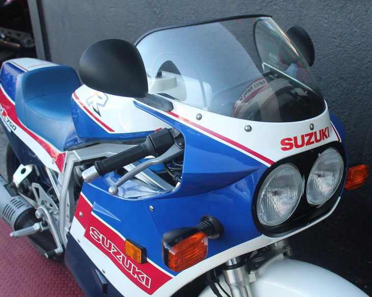 1986 Suzuki GSXR-750 Limited with 10 Miles at IconicMotorbikes!