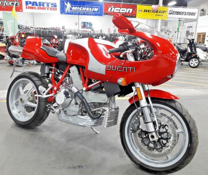 Cherry pie: Zero-mile 2002 Ducati MH900e