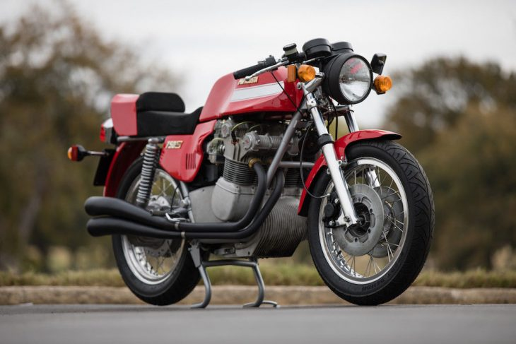 Classic Italian Superbike: 1975 MV Agusta 750S America for Sale