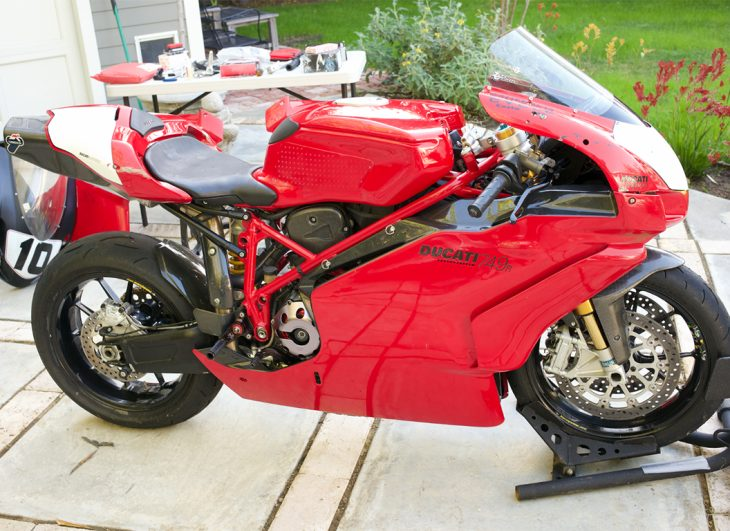 As Intended: 2004 Ducati 749R for Sale