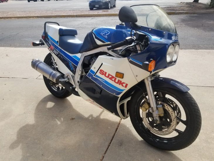Ready to roll: 1986 Suzuki GSX-R 750