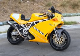 Featured Listing: 1993 Ducati 900 Superlight #776