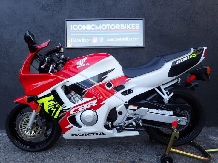 Stock, low-mile Supersport:  1996 Honda CBR600 F3