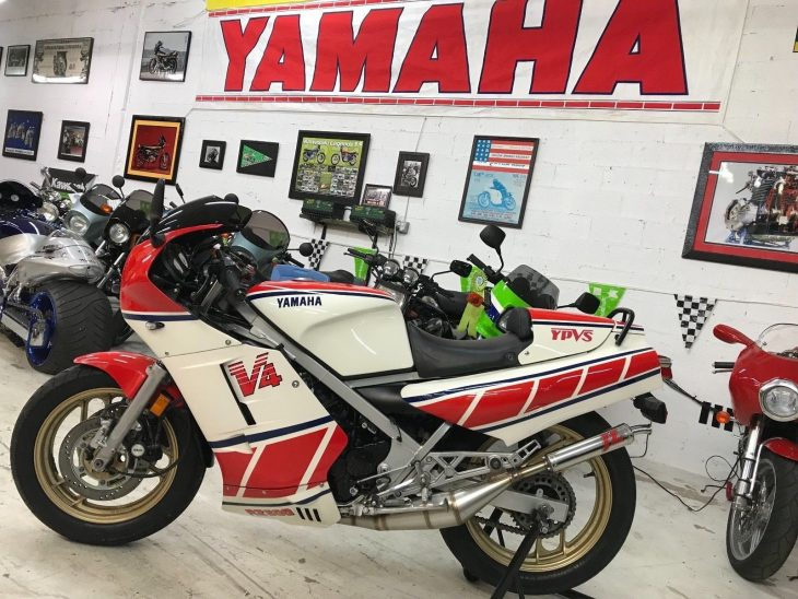 Signed by the King: 1985 Yamaha RZ500 RN