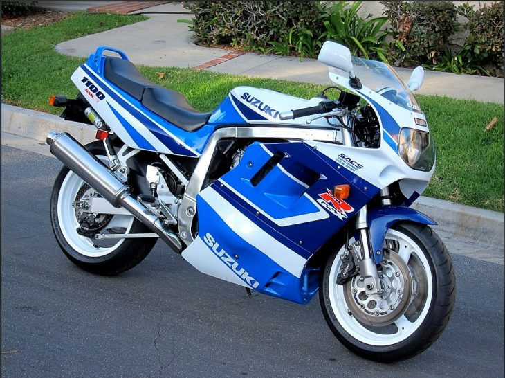 Teenage Dream: 1991 Suzuki GSX-R1100 for Sale