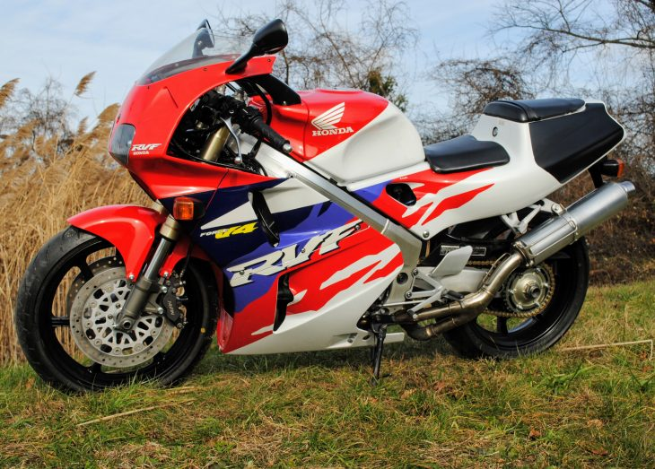 Sponsored listing: Super clean 1995 Honda RVF400