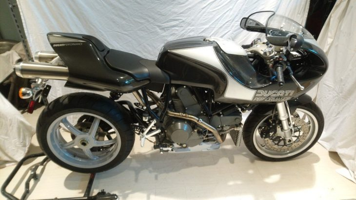 Rouge One: 1999 Ducati MH900e pre-production