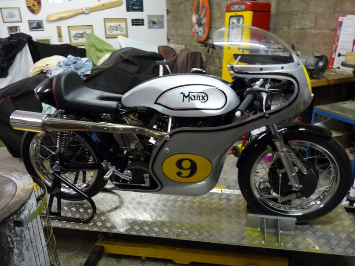 Mystery Ship: 2010 Norton Manx
