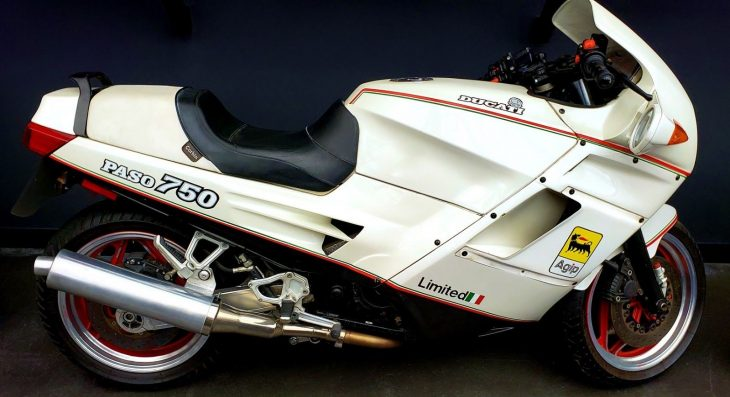 The description is worth it: 1988 Ducati Paso 750ie