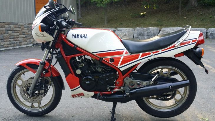 Not Museum (but could be?): 1985 Yamaha RZ350
