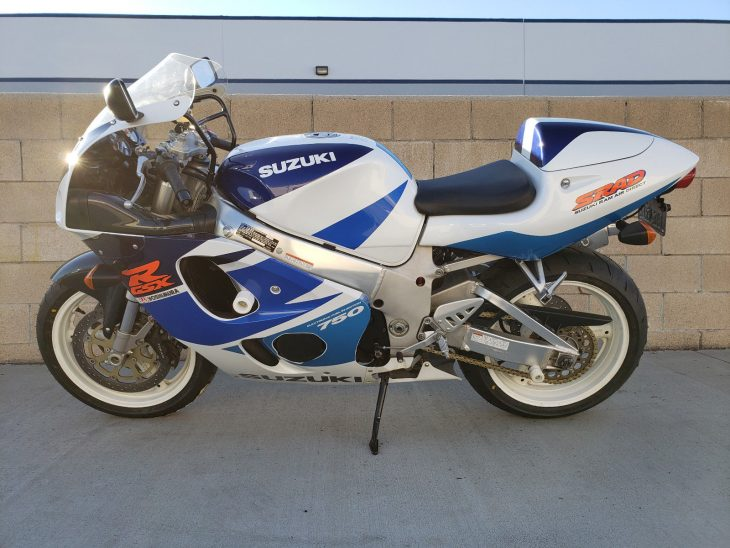 Never this clean: 1998 Suzuki GSX-R 750 SRAD