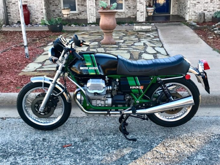 Cool As a Cucumber: 1991 Moto Guzzi 1000S