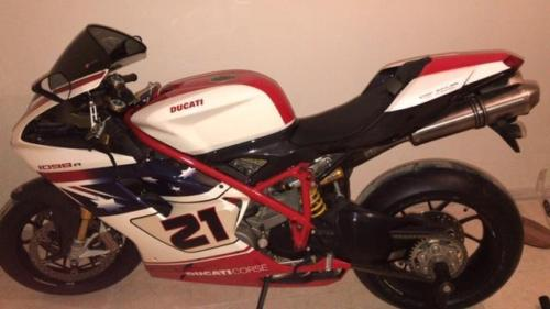 Ital-Lebanese Delight: NEW 2009 Ducati 1098R Bayliss Edition