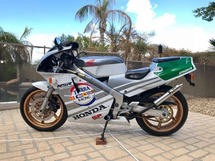 Terra Racing Replica: 1989 Honda NSR250R SP for Sale
