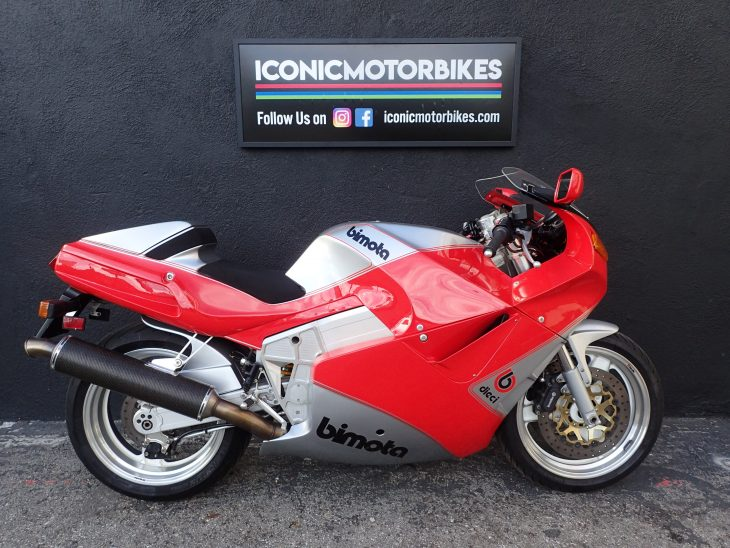 Sponsored Listing: 1991 Bimota YB10 Dieci for Sale