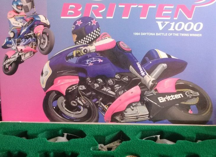 Some Assembly Required: 1994 Britten V1000 SCALE MODEL for Sale