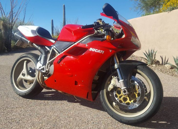 Sport Production Special: 1998 Ducati 916 SPS for Sale