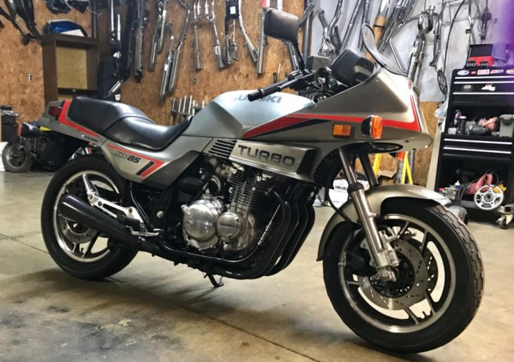 Use Your Boost to Get Through – 1983 Suzuki XN85 Turbo