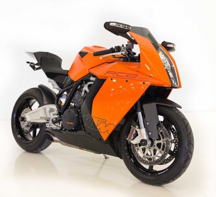 Double Fun – 2008-10 KTM RC8 1190's