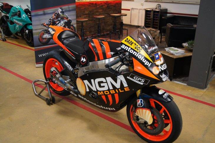 Featured Listing: Honest-to-God 2012 Suter BMW MotoGP bike