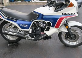 Featured Listing: 1984 Honda CX650 Turbo!
