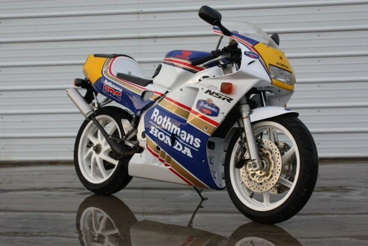 Legend:  1994 Honda NSR 250R SP MC28 Rothmans