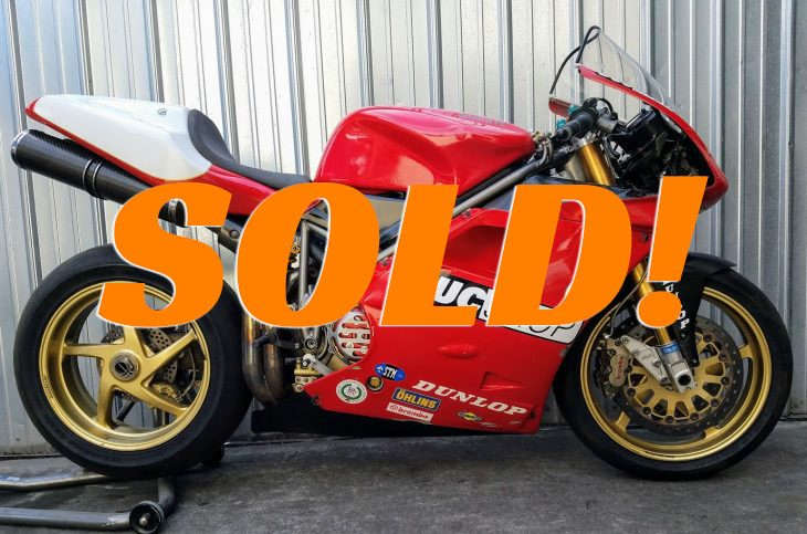 Featured Listing: 2000 Ducati 748RS track bike
