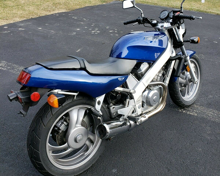 Affordable Cult Classic: 1988 Honda Hawk GT for Sale