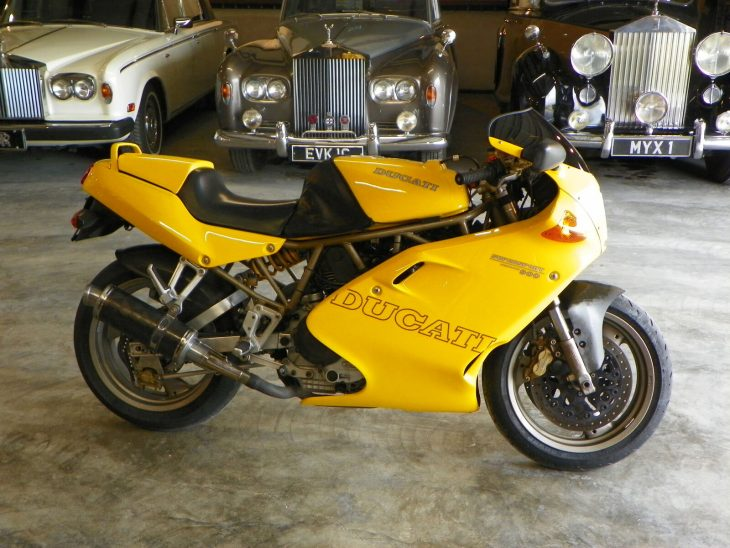 Think SS/SPring – 1997 Ducati 900 SS/SP #59