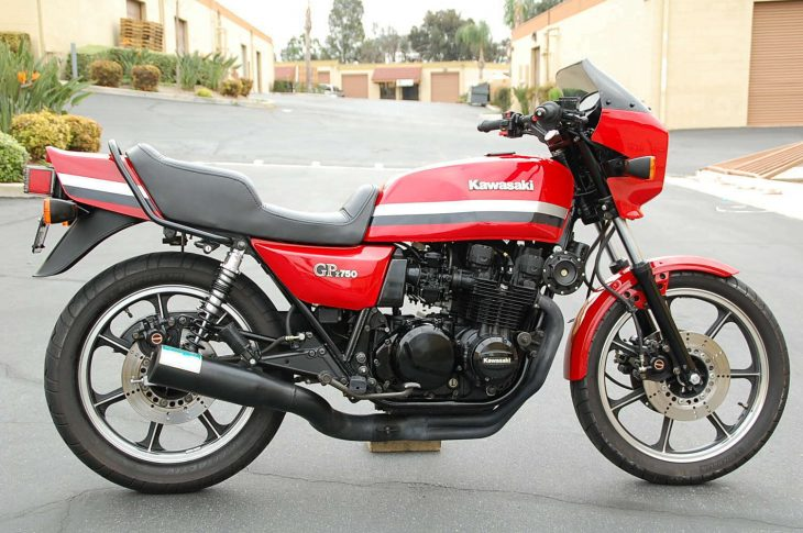 Old School Awesome: 1982 Kawasaki GPz 750