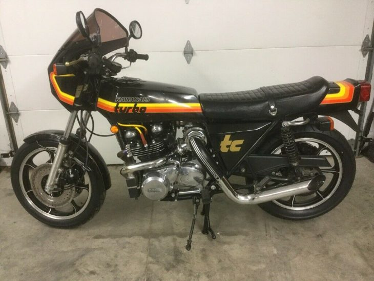 Puffed Up: 1978 Kawasaki Z1-R TC