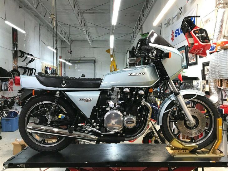 Featured Listing: 1978 Kawasaki Z1-R