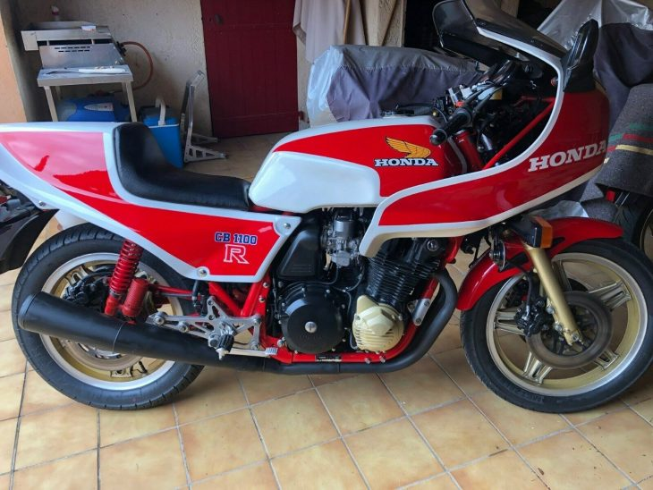 OG Race rep: 1981 Honda CB1100RB