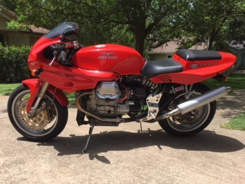 Affordable Italian:  1997 Moto Guzzi 1100 Sport