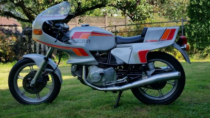 Tripping the Light Pantahstic: 1982 Ducati Pantah 600SL for Sale