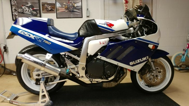 Slingshot Superbike: 1989 Suzuki GSX-R750 for Sale