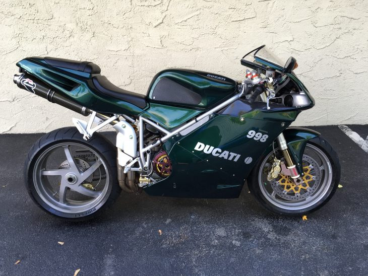 Featured Listing – 2004 Ducati 998 Matrix Reloaded Edition
