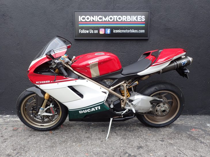 Featured Listing – 2007 Ducati 1098S Tricolore