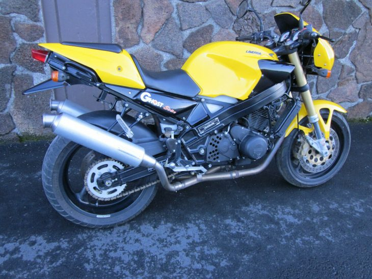 Budget Exotic: 1998 Laverda Ghost Strike 668 for Sale
