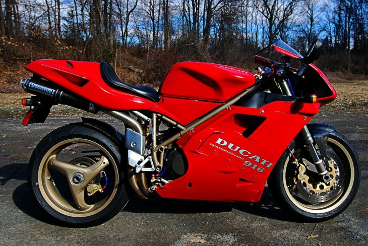 A New York Minute: 1997 Ducati 916 Monoposto