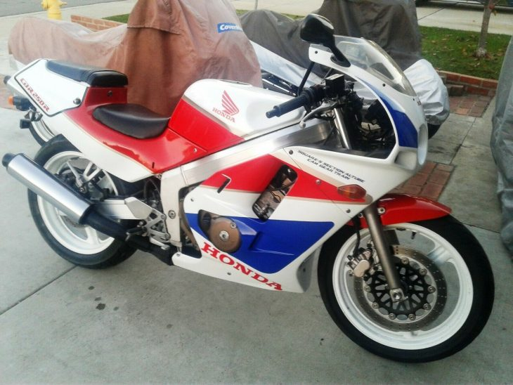 Tropical Depression: 1988 Honda CBR250R