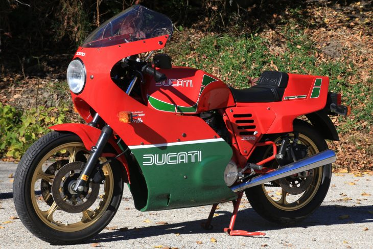 Featured Listing: 1985 Ducati Mike Hailwood Replica