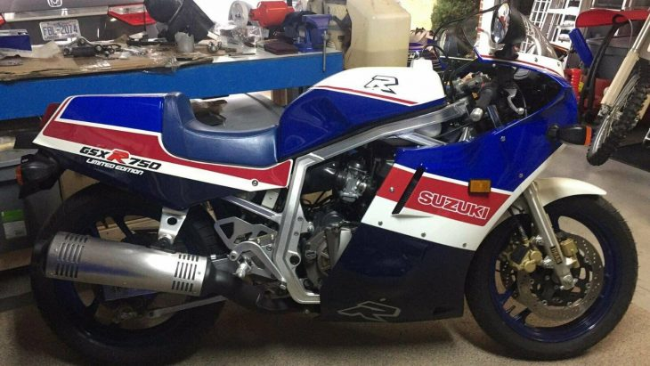 Restored and preserved: 1986 Suzuki GSXR750 LE