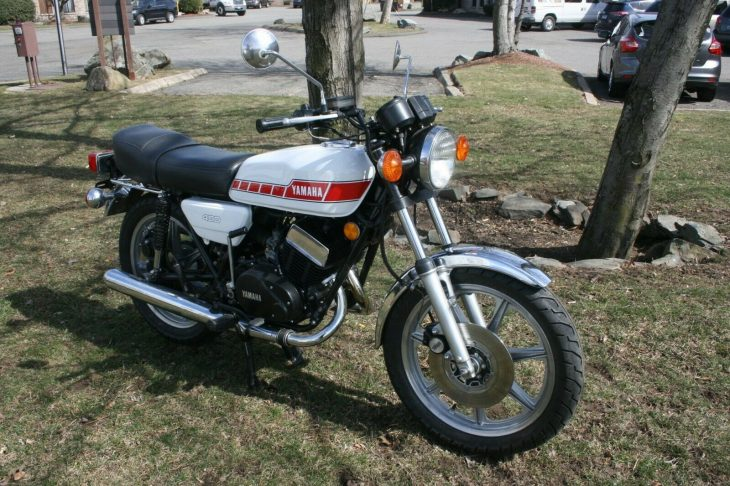 Punching above its weight: 1976 Yamaha RD400