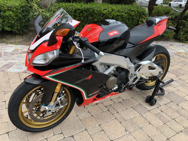 Update: New photos and price! Featured Listing: 2013 Aprilia RSV4 Factory