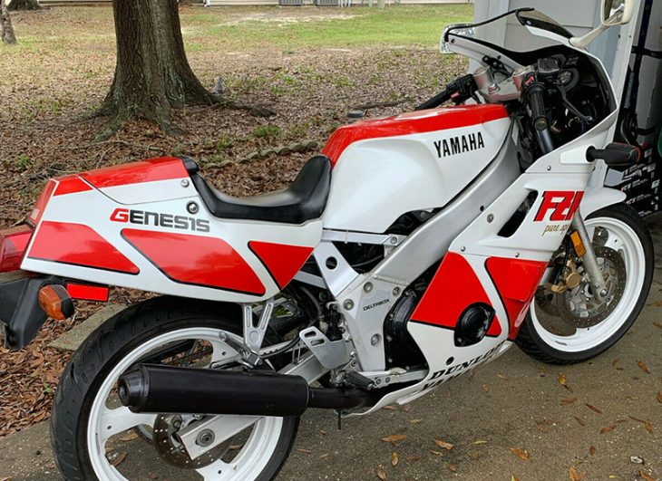 Too Little or Just Enough? 1990 Yamaha FZR400 for Sale