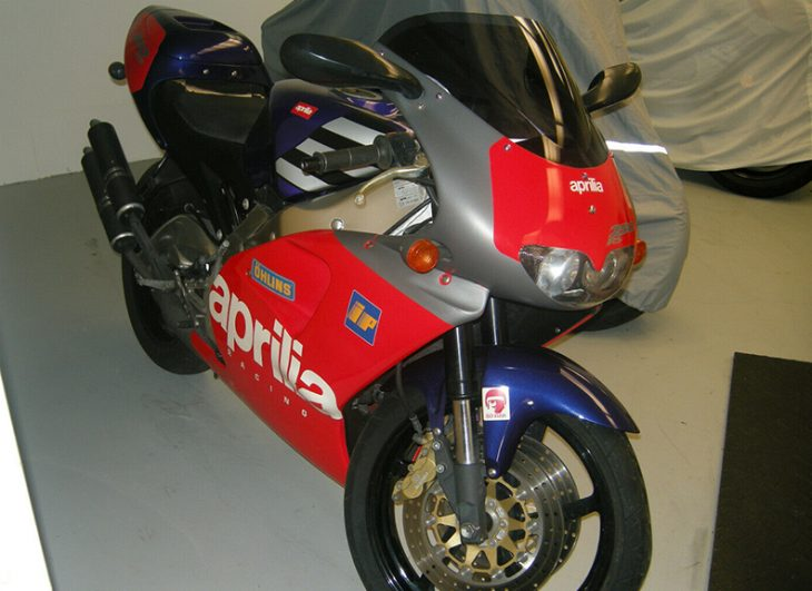 Loris Reggiani Replica: 1996 Aprilia RS250 for Sale