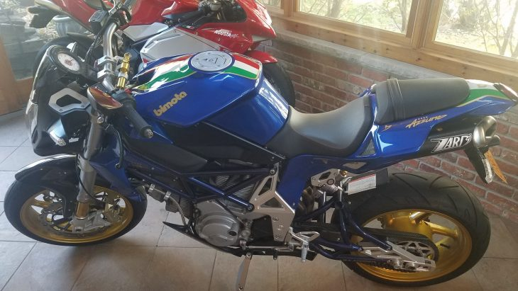 Featured Listing: 2007 Bimota DB6 Delirio Azzurro