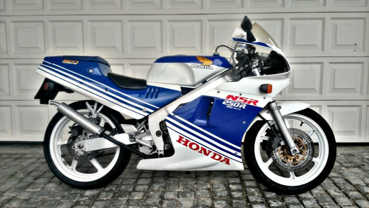 Winter is Coming – 1988 Honda NSR250R