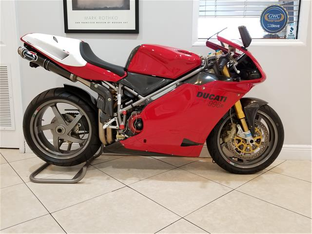 Less Equaling More – 2001 Ducati 996R #114/500